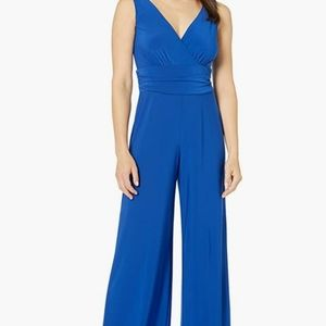 Royal Blue Carly Jump Suit by Pappagallo